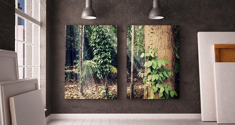 Fotoobraz - indywidualna ozdoba sypialni i salonu