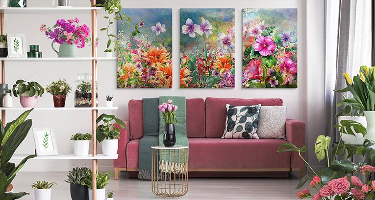 Wiosenne dekoracje wnętrz – wiemy, co zrobić, by odświeżyć wystrój
