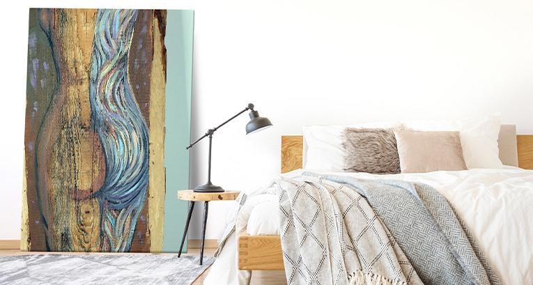 Obrazy-akty: odważna dekoracja wnętrza