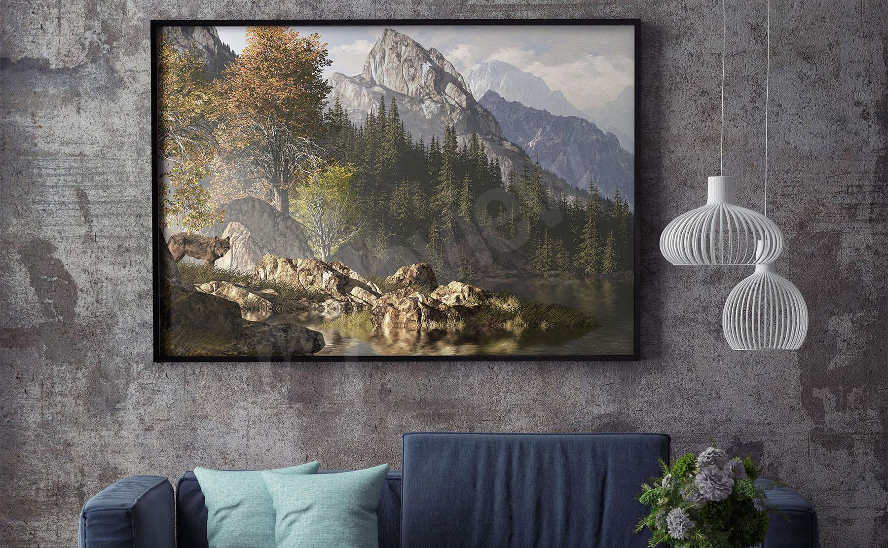 Plakaty Góry ścienne Na Wymiar Myloviewpl