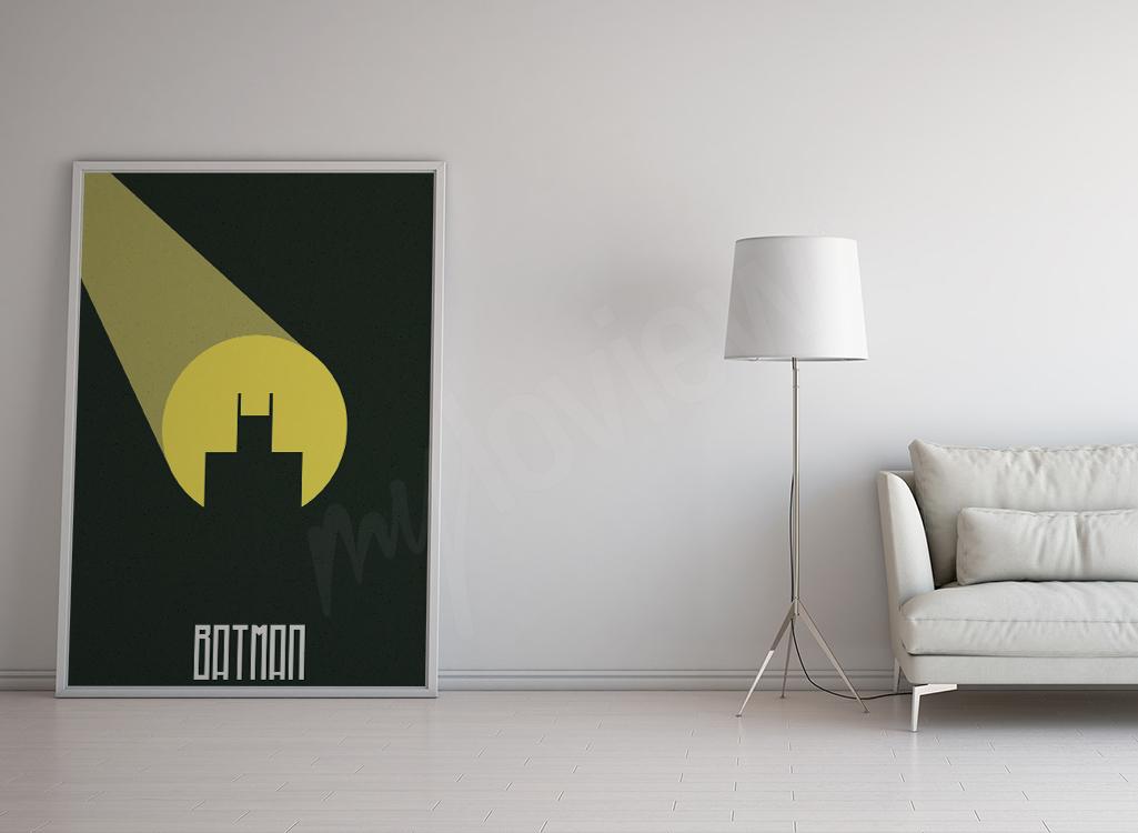 Plakat komiksowy Batman