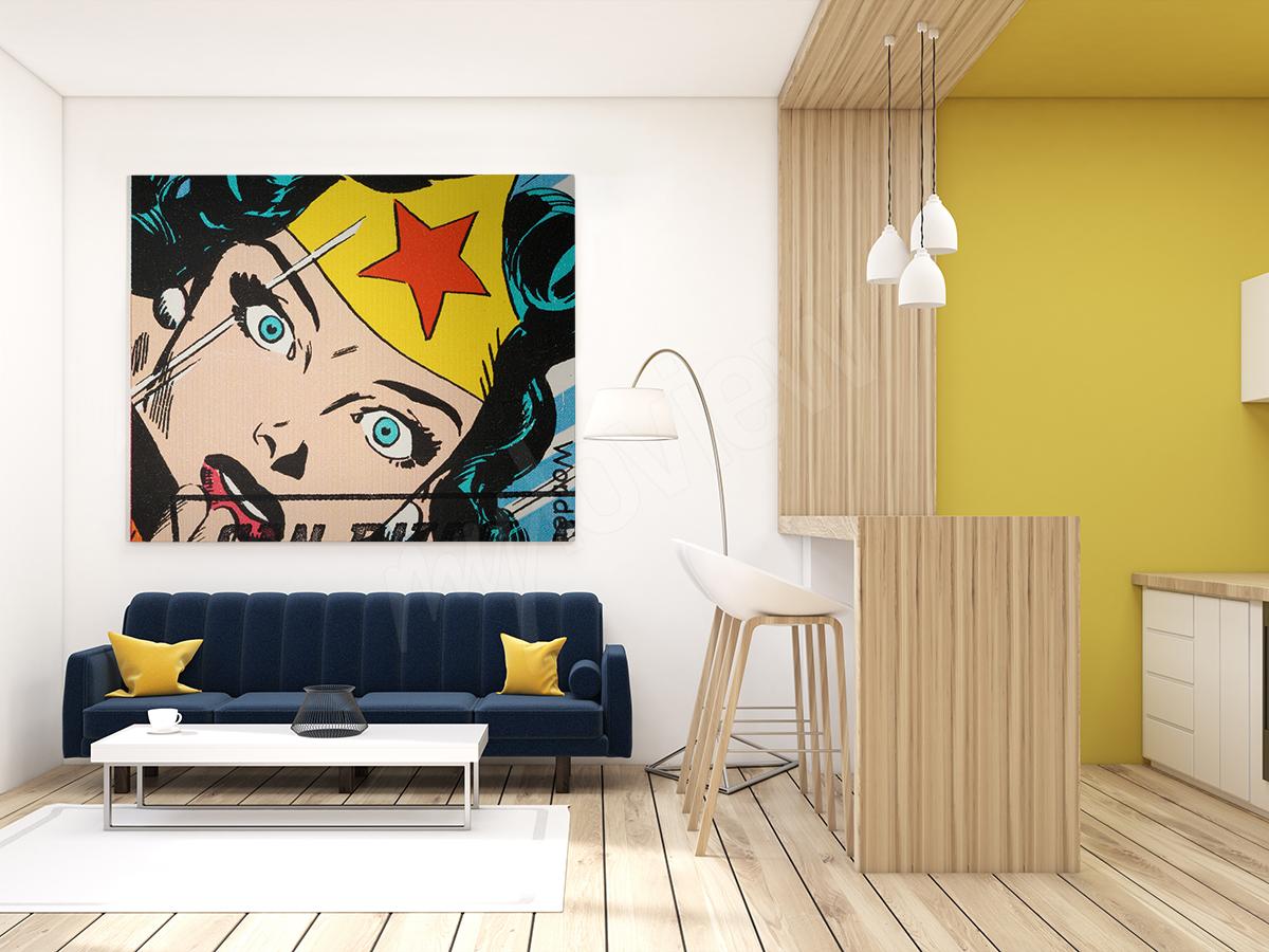 Plakat komiksowy Wonder Woman