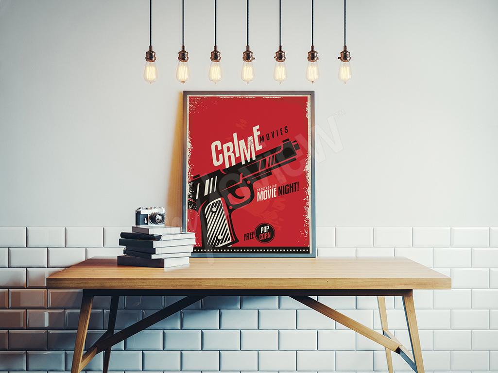 Plakat seans filmowy