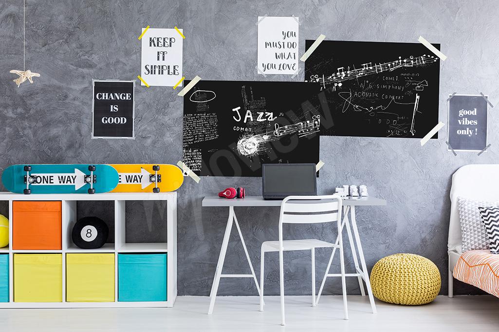 Artykuły Plakaty Muzyczne W Pokoju Nastolatka Myloview