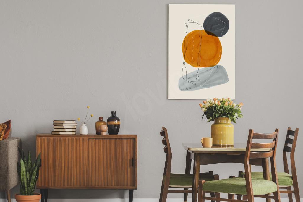 Styl retro w modernistycznej odsłonie świetnie wpasuje się w klasyczną aranżację