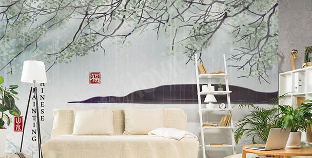 Botaniczna fototapeta Azja