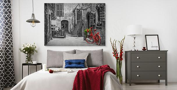 Czarno-biały obraz Włochy