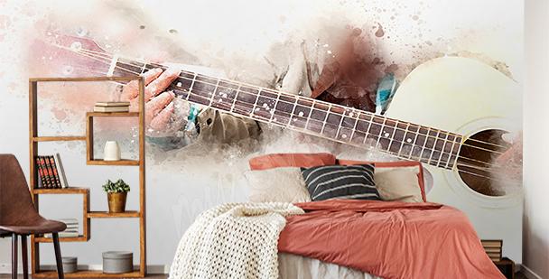 Fototapeta muzyka dla nastolatka