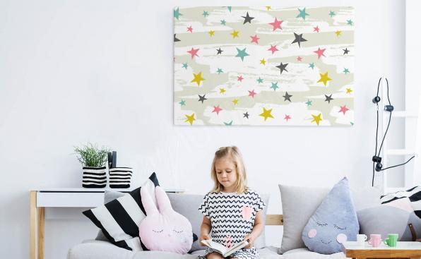 Dziecięcy obraz gwiazdy