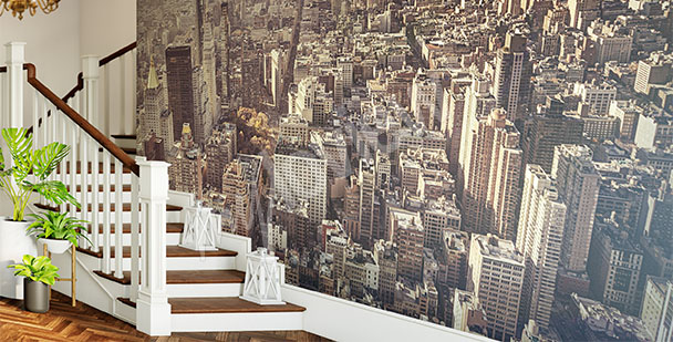 b4f0ccb8 Fototapety 3d Nowy Jork • Fototapeta   myloview.pl