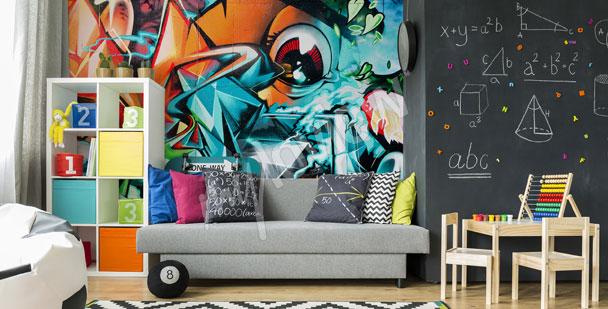 Fototapeta abstrakcyjne graffiti