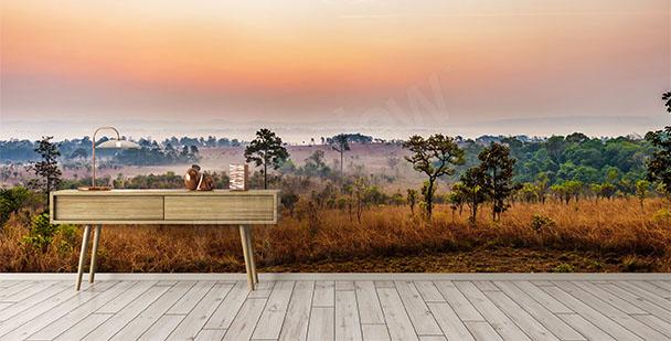 Fototapeta afrykańska sawanna