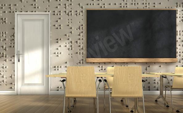 Fototapeta alfabet Braille'a