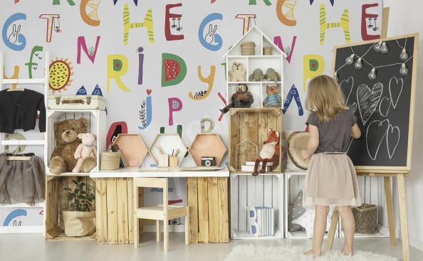 Fototapeta alfabet dla dzieci