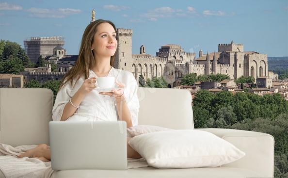 Fototapeta architektura Avignon