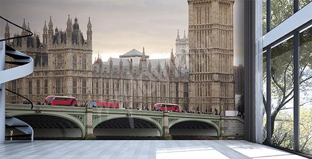 Fototapeta architektura Londynu