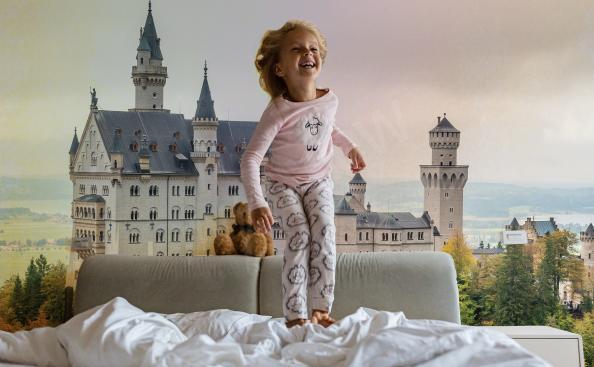 Fototapeta architektura - zamek w Niemczech