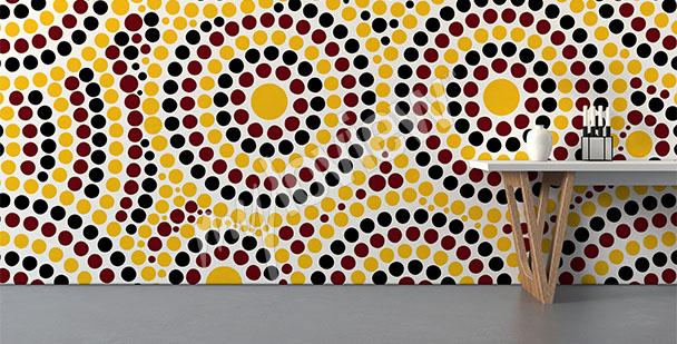 Fototapeta australijska mozaika