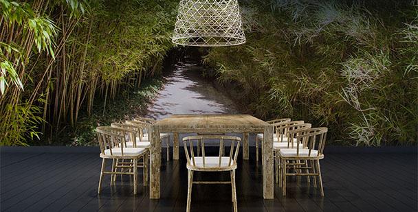 Fototapeta bambus w 3d