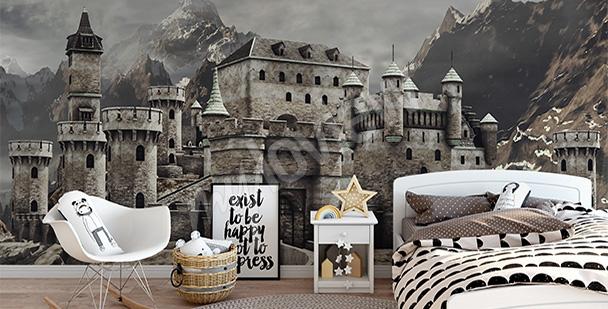 Fototapeta baśniowy zamek