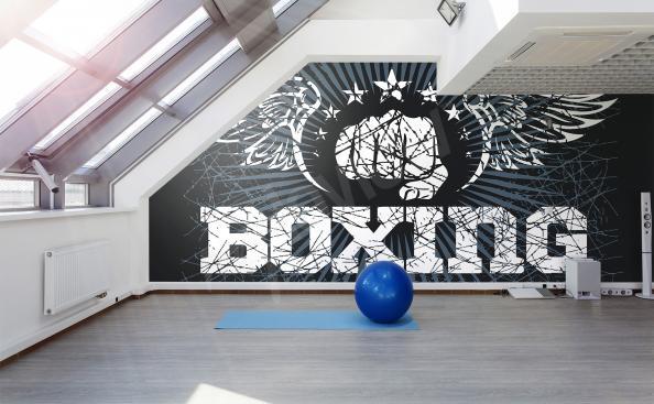 Fototapeta boks do sali gimnastycznej