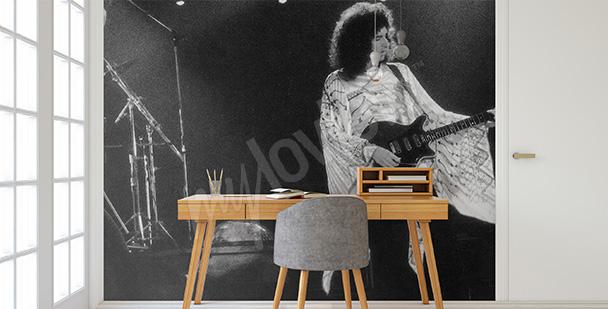 Fototapeta Brian May na koncercie