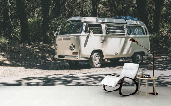 Fototapeta bus vintage