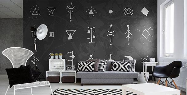 Fototapeta styl scandi symbole