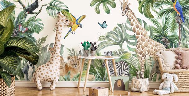 Fototapeta dla chłopca – dżungla