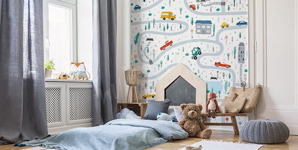 Fototapeta pokój dziecięcy drzewo
