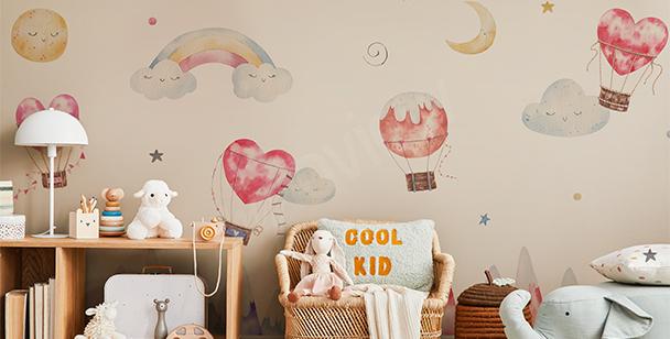 Fototapeta pokój dziecięcy księżyc