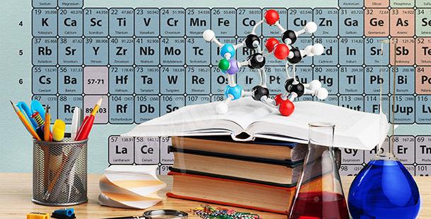 Fototapeta do klasy chemicznej