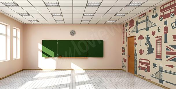Fototapeta do klasy językowej