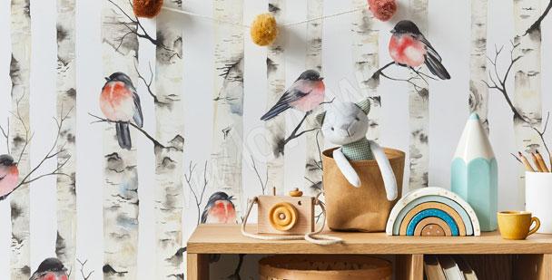 Fototapeta do pokoju chłopca – ptaki