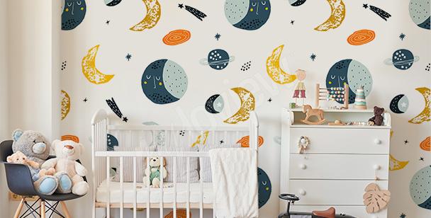 Fototapeta do pokoju dziecka – kosmos