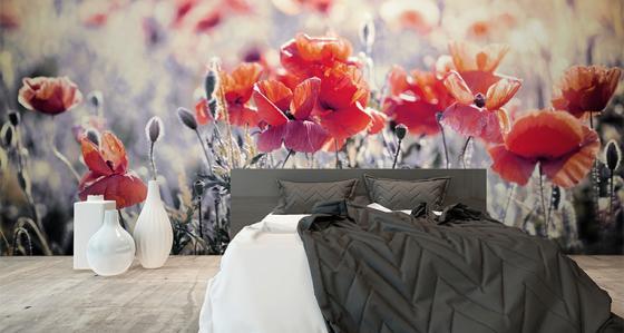 Sypialnia może mieć wiele twarzy: fototapety i dodatki