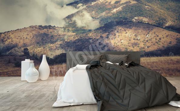 Fototapeta do sypialni krajobraz górski