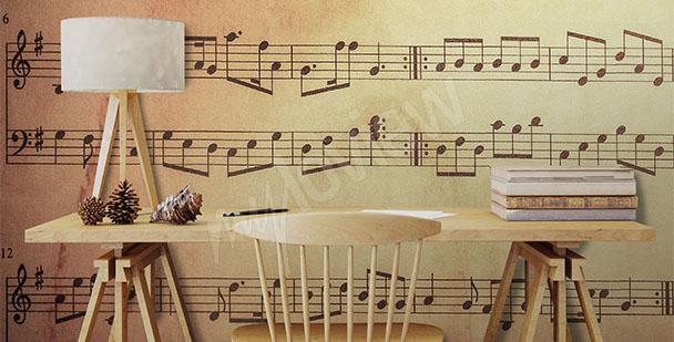 Fototapeta do szkoły muzycznej