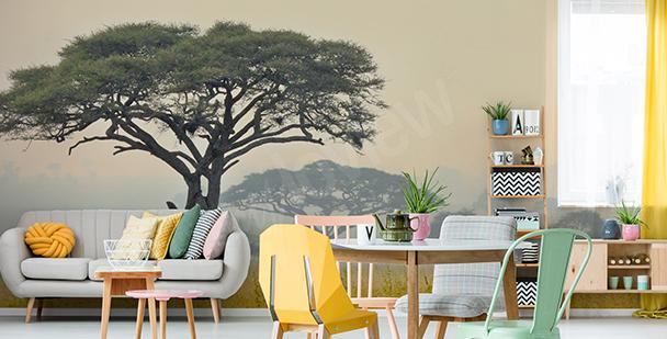 Fototapeta drzewa w Tanzanii