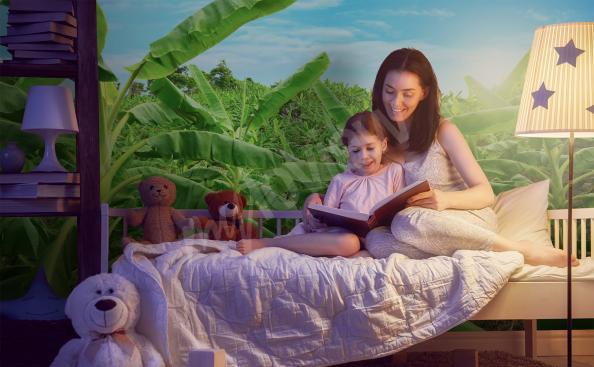 Fototapeta egzotyczna roślinność dla dzieci