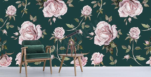 Fototapeta eleganckie róże