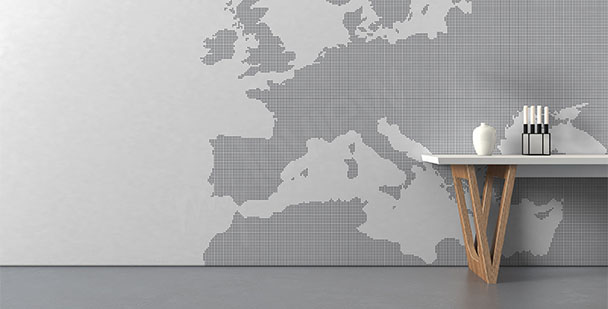 Fototapeta Europa styl minimal