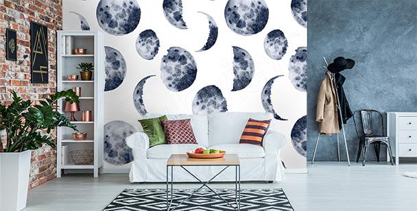 Fototapeta fazy księżyca