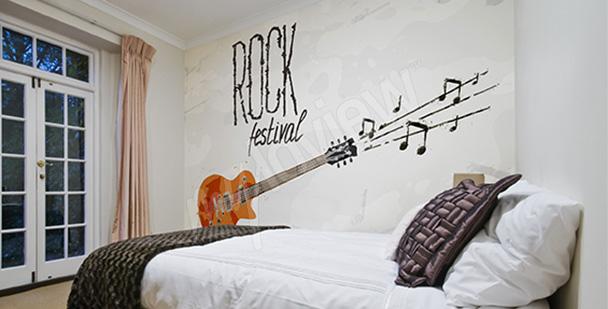 Fototapeta festiwal rockowy