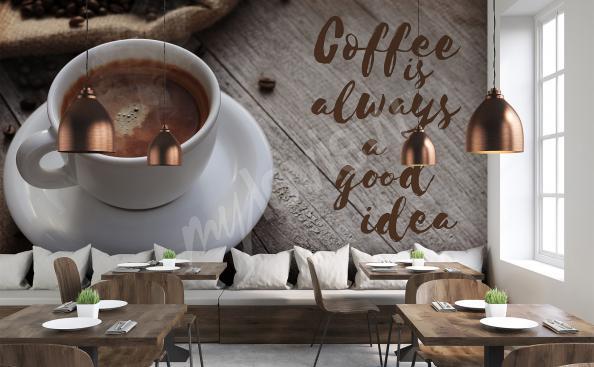 Fototapeta filiżanka kawy 3d