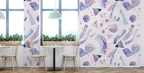 Fototapeta fioletowa abstrakcja