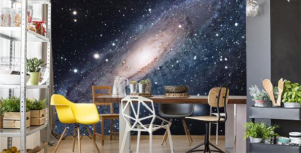 Fototapeta galaktyka do jadalni