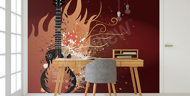 Fototapeta gitara elektryczna
