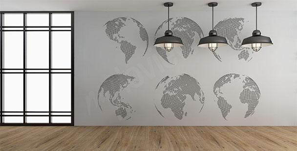 Fototapeta globusy