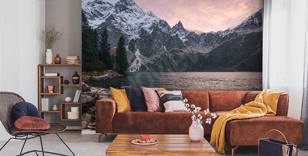 Fototapeta górskie jezioro